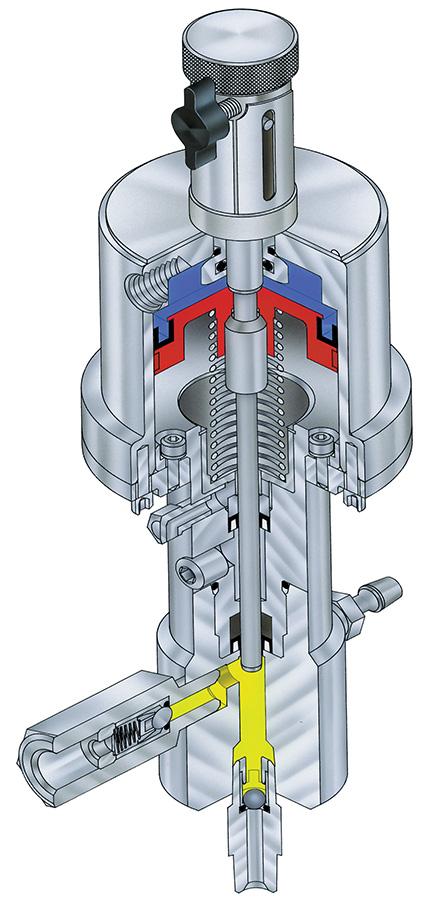 3D cutaway illustration
