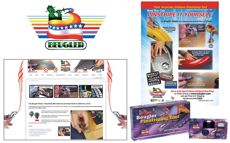 Beugler website, brochures, photography, video