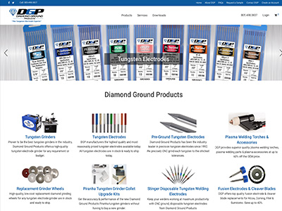 Diamond Ground Products  website and management