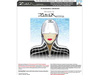 Zinex  website and management