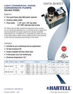Spec Sheet by CID