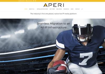 APERI website design and management