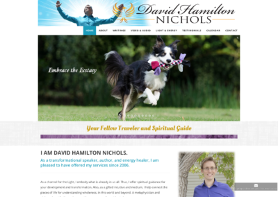 David Nichols  website and management