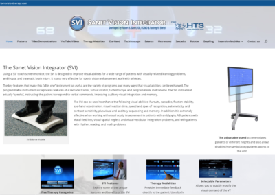 SVI  website and management
