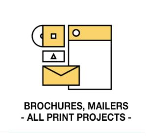 Brochures, mailers, print design at Channel Islands Design (CID)