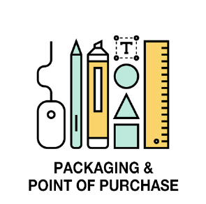 Packaging and point of purchase display design at Channel Islands Design