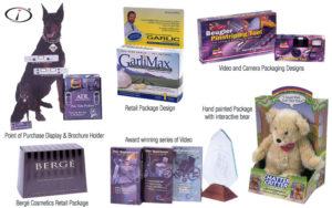 packaging design at Channel Islands Design (CID)