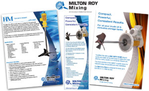 Milton Roy Mixing ad materials by Channel Islands Design