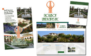 Plowboy Landscapes website by Channel Islands Design