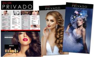 Salon Privado marketing by Channel Islands Design