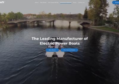 ElectraCraft website and digital marketing
