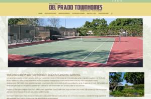Del Prado Townhomes website