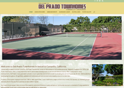 Del Prado Townhomes website