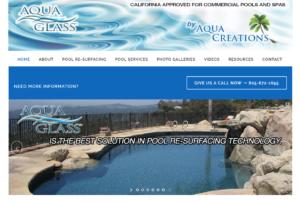 Aqua Creations website