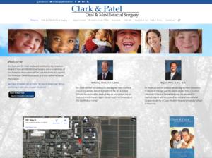 Clark & Patel website