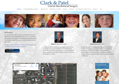 Clark & Patel website