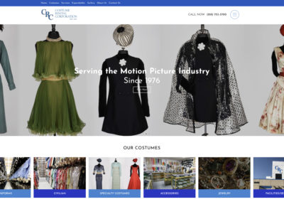 Costume Rental Corporation website