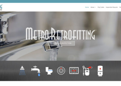 Metro Retrofitting website