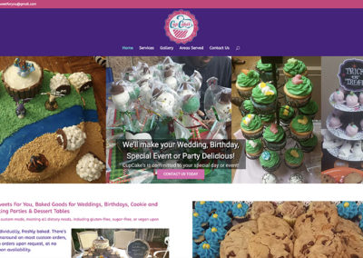 Cup Cakes website