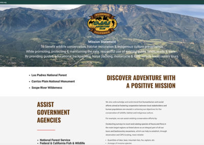 Ojai Adventure Club Website