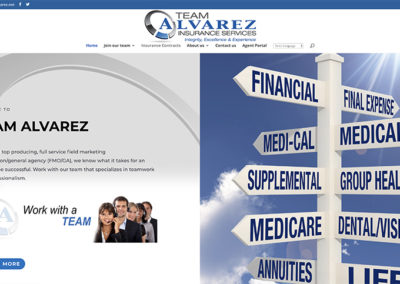 Team Alvarez website
