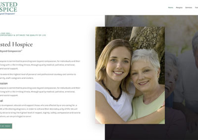 Trusted Hospice website